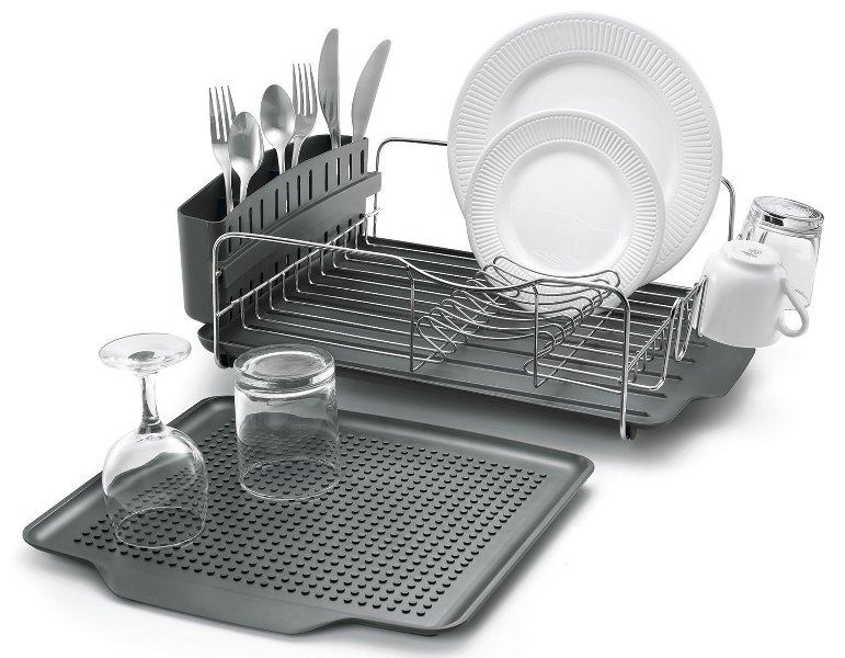 5 Best Dish Racks In 2020 Top Rated Utensil Drainers And
