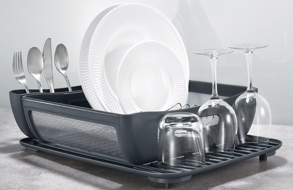 5 Best Dish Racks 2019 Top Rated Utensil Drainers And