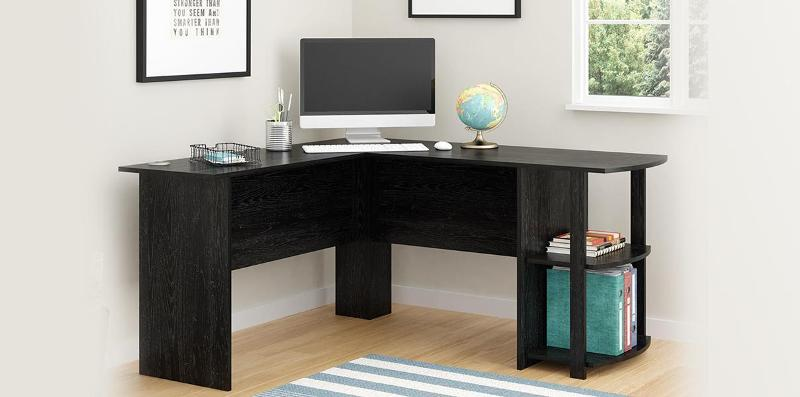 Lastly, This Office Desk Is Very Durable, Elegant And Will Even Fit Snugly  Into Any Corner In Order To Minimize Space Within Your Home Or Work Office.