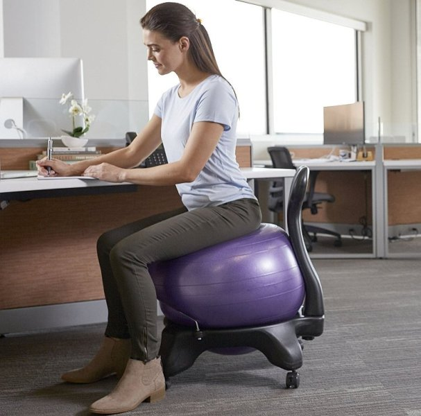 All in all this Ball-chair will help you build a healthier core align the spine relieve back pain and stiffness boost energy levels and even increase ... & 5 Best Exercise Balls 2018 - Top Rated Fitness Stability Balance ...