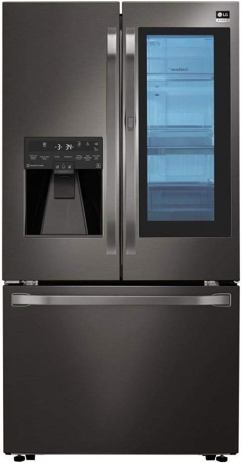 #2 CHOICE: LG Studio LSFXC2496D Stainless Counter Depth French Door  Refrigerator: