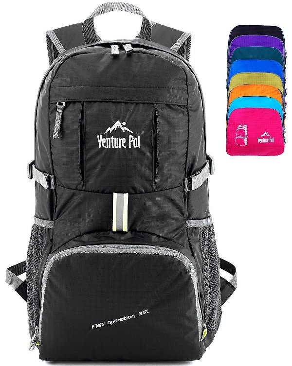 4-CHOICE  Venture Pal Lightweight Packable Durable Travel Hiking Backpack    Daypack  aaa99f126f001