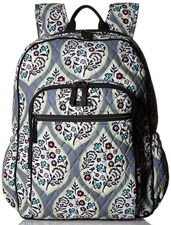 5-CHOICE  Vera Bradley Campus Tech Backpack with Signature Cotton  eccb831a94cfa