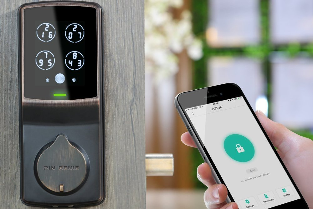 Best Digital Door Lock 2019 5 Best Smart Door Locks In 2019   Top Rated Front Door & Back Door