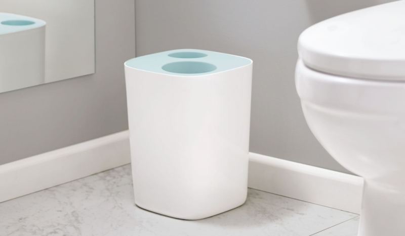 5 Best Bathroom Trash Cans In 2021, Modern Bathroom Wastebasket